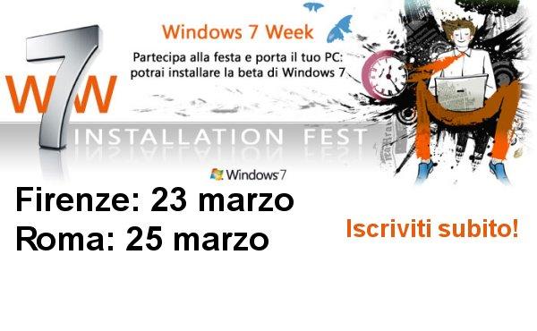 Windows 7 Installation Fest